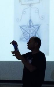 הרצאה של תמיר אשמן בליל המדענים