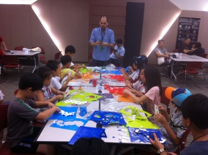 Tamir Ashman children workshop at bridges confrernce